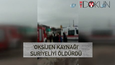 Büyükçekmece'de tanker patladı: 1 ölü