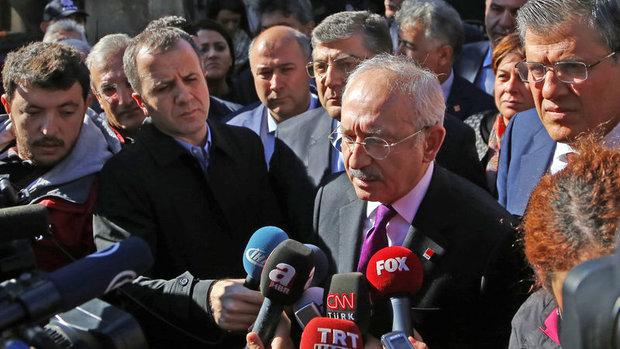 CHP Lideri Kılıçdaroğlu yangın faciasının yaşandığı Aladağ'da