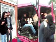 Otizmli öğrencisine kamyonla duygulandıran sürpriz