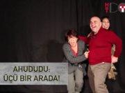 Melek Baykal, Nedim Saban ve Suna Keskin tiyatroda buluştu!