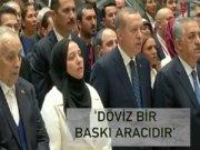"""Erdoğan: """"Dolarınızı TL'ye çevirin"""""""