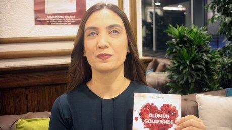Adana'da görme engelli öğretmen roman yazdı