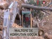 Maltepe'de göçük