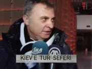 """Beşiktaş Kiev'de: """"Skor hiç fark etmez, galip gelelim yeter"""""""