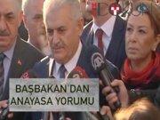 """Başbakan Yıldırım: """"İstişarelere devam ediyoruz"""""""