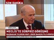 Başbakan Yıldırım, Devlet Bahçeli ile görüşüyor