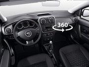 Dacia Sandero'yu kabin içinden 360° izleyin