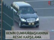 Cumhurbaşkanı Erdoğan Beninli mevkidaşını kabul etti