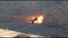 Adana'da bombalı araçta ele geçen 50 kilo bomba böyle patlatıldı