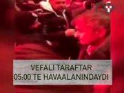 Sabaha karşı Beşiktaş'a görkemli karşılama