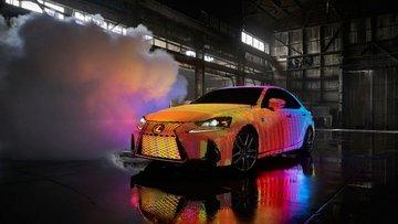 Dünyanın en renkli otomobili