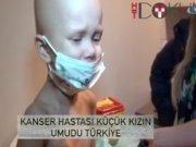 Ukraynalı kanser hastası küçük kızın umudu Türkiye