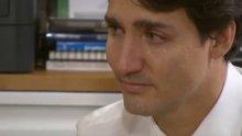 Kanada Başbakanı Trudeau böyle ağladı
