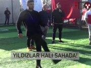 Galatasaray'ın yıldızları halı sahada!