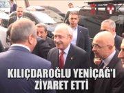 Kılıçdaroğlu Yeniçağ Gazetesini ziyaret etti