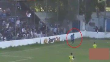 Futbolcuya polis kurşunu!