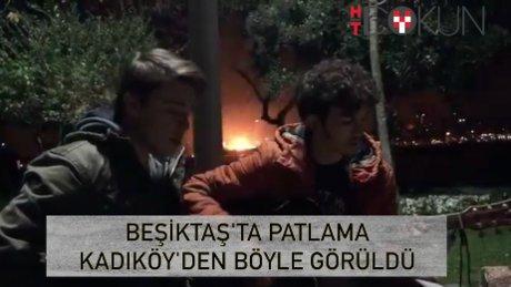 Beşiktaş'ta şiddetli patlama: 30'u polis 39 şehit