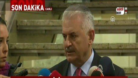 Başbakan Binali Yıldırım'dan Anayasa teklifi ile ilgili ilk açıklama