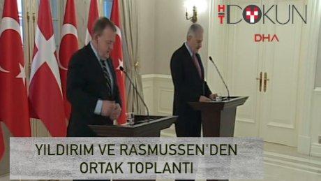Başbakan Yıldırım ve Danimarka Başbakanı'ndan ortak basın toplantısı