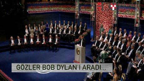 Nobel'de Bob Dylan'ın kendisi değil şarkıları oradaydı