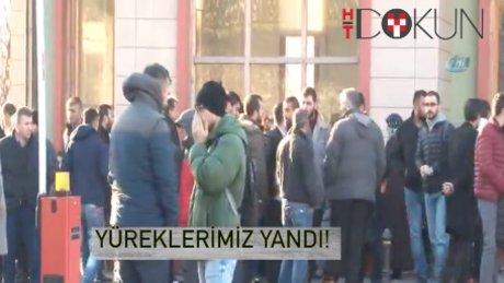 Beşiktaş'taki terör yüreklerimizi yaktı