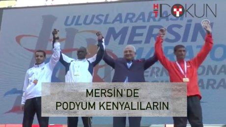 Mersin Maratonu'na 'Kenya' damgası
