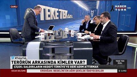 Fatih Altaylı ile Teke Tek'te terör hedefindeki Türkiye konuşuldu