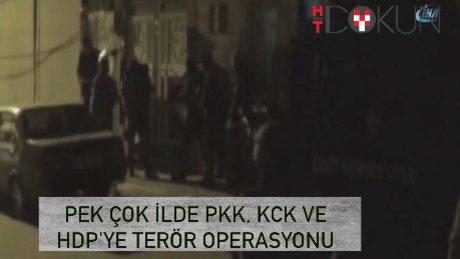 PKK/KCK ile HDP'ye operasyon