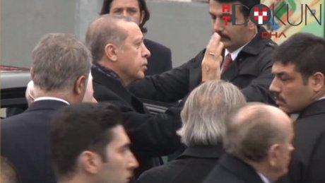 Erdoğan'dan patlama noktasına ziyaret