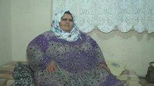Halepli genç kız tedavi olamayınca 350 kiloya çıktı