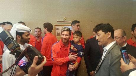 Messi, Murtaza ile görüştü