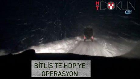 Bitlis'te 3 HDP'li başkana gözaltı