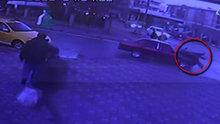 Kocaeli'de feci kaza! Yayalara böyle çarptı