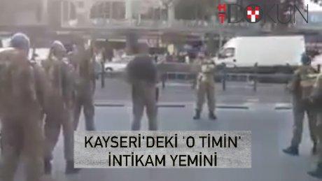 Kayseri Komando Tugayı'nın yemini!