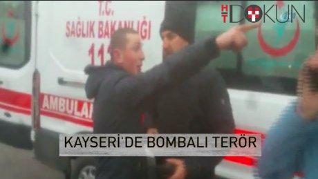 Erciyes Üniversitesi önünde bombalı terör: 13 şehit