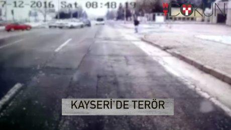 Erciyes Üniversitesi'ne terör