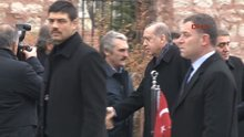 Erdoğan Prof. Dr. Süleyman Yalçın'ın cenazesine katıldı