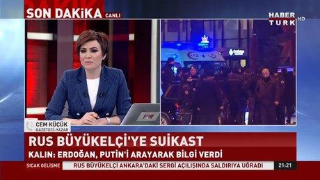 Gazeteci Cem Küçük Rus Büyükelçinin saldırganı hakkında açıklama yaptı