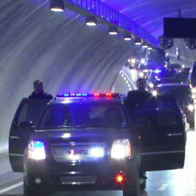 Erdoğan, Avrasya Tüneli'nden geçti