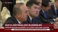Çavuşoğlu: Büyükelçilik sokağının adı 'Karlov' olacak