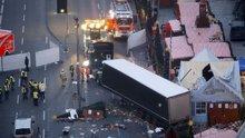 Berlin'de bir tır Noel pazarına girdi:12 ölü