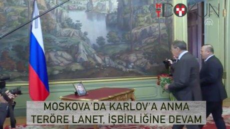 Moskova'da Karlov'a anma ve üçlü anlaşma