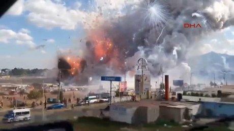 Meksika'da havai fişek faciası 27 ölü, 60 yaralı