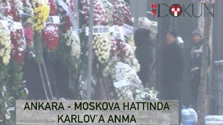 Moskova'da karlov'a anma, Ankara'da 13 gözaltı