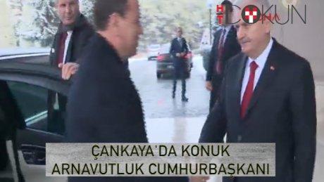 Başbakan Yıldırım, Arnavutluk Cumhurbaşkanı ile görüştü