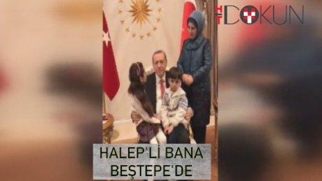 Cumhurbaşkanı Erdoğan, Halep'in sesi Bana Alabed'i kabul etti