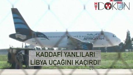 Libya uçağı kaçırıldı, Malta'ya indirildi