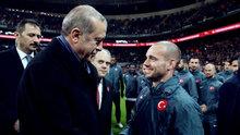 Wesley Sneijder: Hep bir Türk gibi hissedeceğim