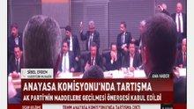 Anayasa Komisyonu'nda pet şişeli tartışma