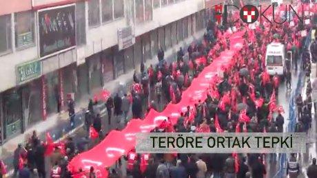Türkiye 'teröre lanet' için bir arada